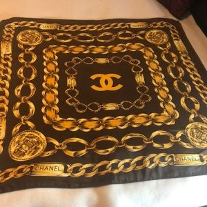 100% Authentic Chanel scarf